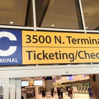 Photo taken at Terminal C Security Checkpoint by Karl F. on 12/31/2012
