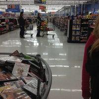 Photo taken at Walmart Supercenter by Sarah H. on 12/27/2012