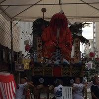 Photo taken at 山笠 中洲流 by shin on 7/11/2014