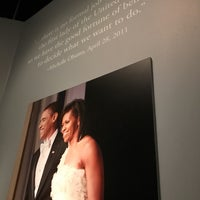 Photo taken at The First Ladies Exhibition by Marcia F. on 10/22/2016