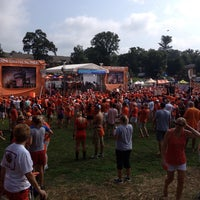 Photo taken at ESPN College GameDay by Kathy on 8/31/2013