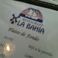 Photo taken at Restaurant La Bahía by Michelle C. on 9/21/2012