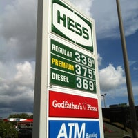 Photo taken at Hess Express by TEC I. on 7/12/2013