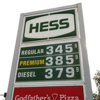 Photo taken at Hess Express by TEC I. on 7/22/2013