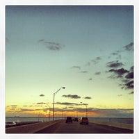 Photo taken at Gandy Bridge by TEC I. on 11/29/2013
