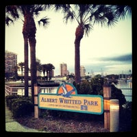 Photo taken at Albert Whitted Park by TEC I. on 4/10/2013