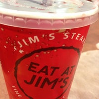 Photo taken at Jim's Steakout by Jonathan R. on 4/21/2013