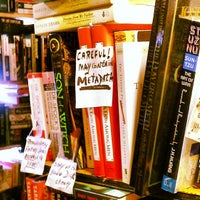 Photo taken at Capitol Hill Books by Katrina W. on 7/14/2013