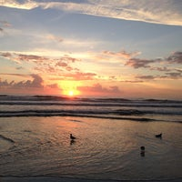 Photo taken at Jax Bch Lifeguard Station by Michael D. on 10/31/2013