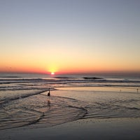 Photo taken at Jax Bch Lifeguard Station by Michael D. on 10/25/2013