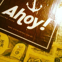 Photo taken at Ahoy! Tavern Club by Guilherme H. on 12/16/2012