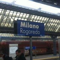 Photo taken at Milano Rogoredo Railway Station (IMR) by Ninah M. on 11/13/2012