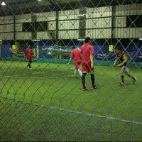 Photo taken at Champion Futsal Arena by Henderick M. on 9/4/2013