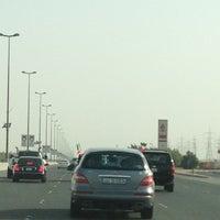 Photo taken at طريق الملك فهد by Maria D. on 2/25/2013