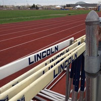 Photo taken at Lincoln Middle School by Chris N. on 5/9/2014