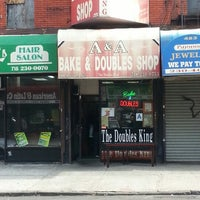 Photo taken at A & A Bake & Doubles by Mr. E. on 11/10/2012