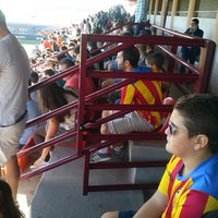 Photo taken at VCF- Ciutat Esportiva De Paterna by Ernesto F. on 10/9/2014