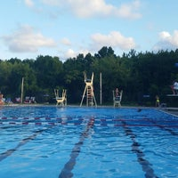 Photo taken at South Shore Swim Club by Erin M. on 8/20/2016