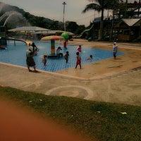 Photo taken at Minang Fantasy Waterpark by denny m. on 1/19/2014