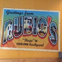 Photo taken at Rubio's by IngenieroDavid on 5/15/2014