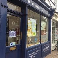 Photo taken at Le Masseur Personnel - Massage Bar & Organic Body Boutique by IngenieroDavid on 9/20/2014