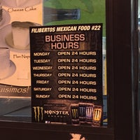 Photo taken at Filiberto's Mexican Food by IngenieroDavid on 1/9/2015