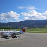 Photo taken at Kelowna International Airport (YLW) by Matthew H. on 7/12/2013