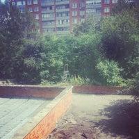 Photo taken at Пущино by Yana B. on 8/10/2013