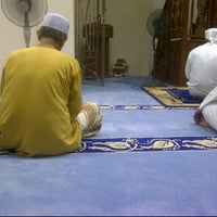 Photo taken at Bukit Mewah Mosque by ashraf h. on 9/30/2012