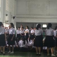 Photo taken at Satri Si Suriyothai School by M'arser A. on 6/9/2017