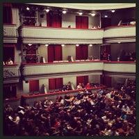 Photo taken at Театр наций by Alexandr U. on 4/16/2013