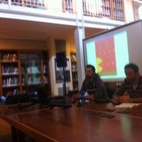 "Photo taken at Biblioteca ""Renzo Renzi"" by marco s. on 11/21/2012"