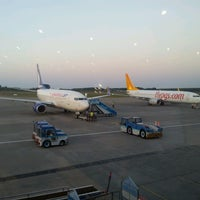 Photo taken at Samsun Çarşamba Airport (SZF) by Engin A. on 7/11/2013