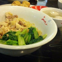 Photo taken at Bakmi Naga by Digdo H. on 10/13/2012