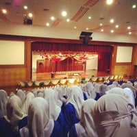 Photo taken at Cultural Activity Centre (CAC) by Dinda Da'ana R. on 2/1/2013