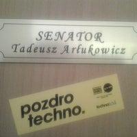 Photo taken at Biuro Senatora RP Tadeusza Arłukowicza by Radek P. on 3/11/2014