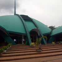 Photo taken at Masjid Jami' Al-Baitul Amien Jember by Briansyah S. on 4/5/2014