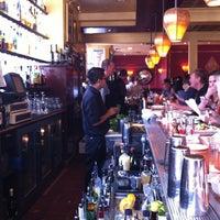 Photo taken at Absinthe Brasserie & Bar by Mei L. on 10/15/2012