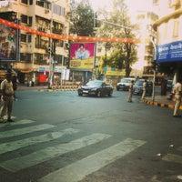 Photo taken at Peddar Road by Amey G. on 10/31/2014