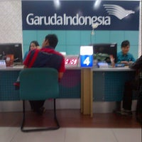Photo taken at Garuda Indonesia Surabaya Office by Winda on 7/19/2013