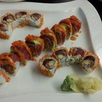 Photo taken at Yummy Sushi by Liz.v on 2/17/2013