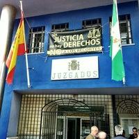 Photo taken at Juzgados De La Linea by Tony M. on 1/8/2013