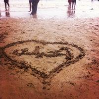 Photo taken at Beach by Fawaz S. on 7/7/2013