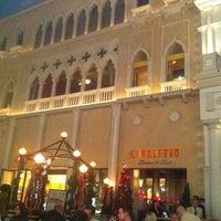 Photo taken at Canaletto Ristorante Veneto Las Vegas by Jim R. on 11/28/2012