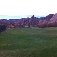 Photo taken at Arrowhead Golf Club by Jeffrey G. on 10/20/2012