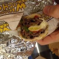 Photo taken at Which Wich? Superior Sandwiches by Scott on 11/21/2013