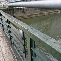 Photo taken at 美倉橋 by zeroweb_boss on 4/16/2018