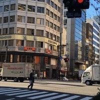Photo taken at 馬喰町一丁目 交差点 by zeroweb_boss on 3/21/2016