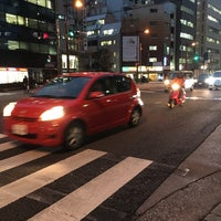 Photo taken at 馬喰町一丁目 交差点 by zeroweb_boss on 2/15/2016