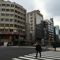 Photo taken at 馬喰町一丁目 交差点 by zeroweb_boss on 4/6/2016